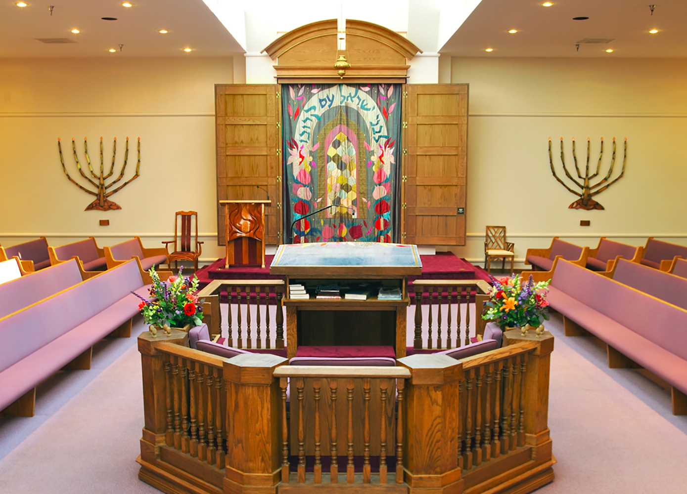 Interior of Synagogue sacttuary Architectural Photography